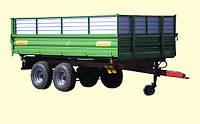 Тракторный самосвальный прицеп ТСП-10 с трехсторонней разгрузкой к тракторам МТЗ-82, грузоподъемность 8 т , фото 1