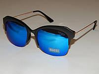 Солнцезащитные очки GUCCI синие линзы 751084