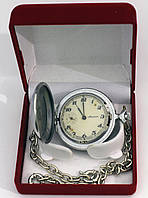 Молния винтаж часы карманные