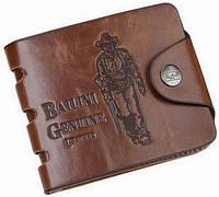 Мужской кошелек, портмоне Bailini. Вместительное портмоне. Стильный кошелек из PU кожи. Код: КЕ584