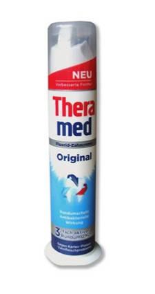 Зубная паста Theramed Original 100мл с дозатором, фото 2