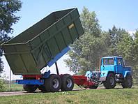 Тракторный самосвальный прицеп ТСП-20 грузоподъемность 15 т , объем 19-26,5 м3
