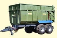 Тракторный самосвальный прицеп ТСП-26 грузоподъемность 20 т , объем 19-26 м3, фото 1