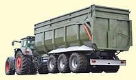 Тракторний причіп ТСП-39 «ВАГОВОЗ» вантажопідйомність 30,5 т , об'єм до 39 м3, фото 1