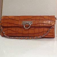 Женская сумка клатч экокожа