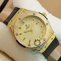 Hublot Big Bang Leather Strap Black/Gold/Gold