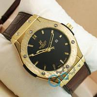 Hublot Big Bang Leather Strap Brown/Gold/Black