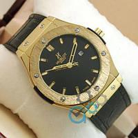 Hublot Big Bang Leather Strap Black/Gold/Black