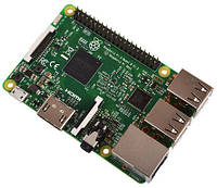 Raspberry Pi 3 Model B (1.2 GHz Quad Core, 1GB RAM, WiFi, Bluetooth 4.1)