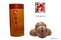 Шу пуэр «Лунюань» (Красная лента) 2014 год 100г