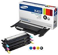 Заправка картриджей Samsung CLT-K407S  принтера Samsung CLP-310/N/315/W/CLX 3170FN/3175
