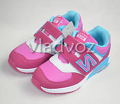 Детские кроссовки для девочки розовые модель Z Kelaifeng 29р.