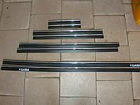 Молдинги  ВАЗ 2101-07 1 хром полоса