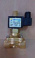 Клапан электромагнитный (вода, воздух, масло)