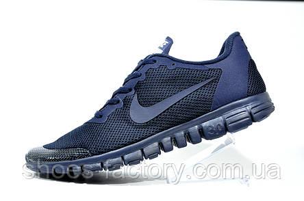 Кроссовки мужские в стиле Nike Free Run 3.0 V2, Dark Blue, фото 2