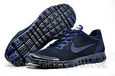 Кроссовки мужские в стиле Nike Free Run 3.0 V2, Dark Blue, фото 3