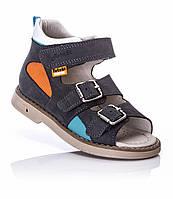 Ортопедическая обувь для детей,  Босоножки с супинатором для мальчика 28
