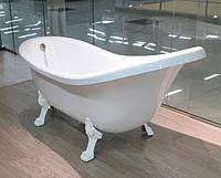 Ванна из искусственного камня на ножках Fancy Marble Romance