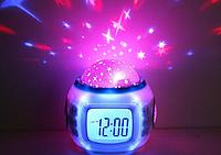 Будильник - проектор звездного неба Sky Calendar, фото 1