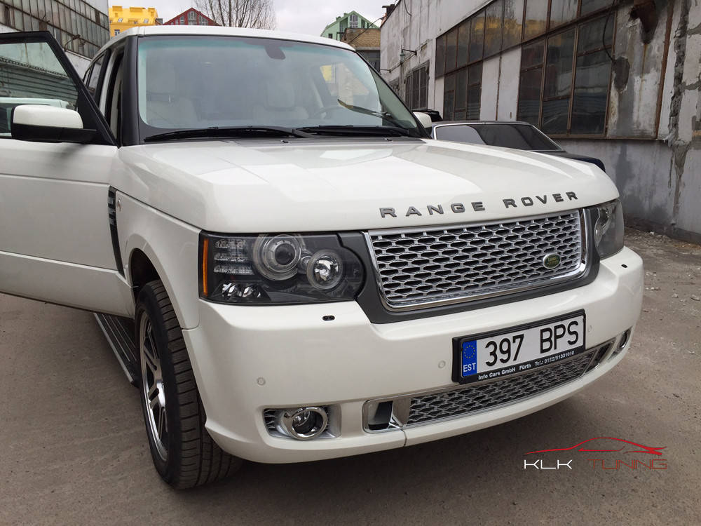 Range Rover Vogue Autobiography White