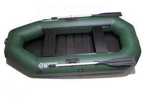 Надувная ПВХ лодка двухместная Q220LS(PS)