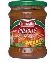 """ВЕГА фрикадельки в томатном соусе """"Wegusie"""", 430 гр Primavika"""