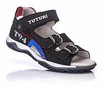 Ортопедическая обувь для детей, Ортопедические сандалии для мальчика Tutubi кожа 34