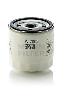 Фильтр масляный MANN W 7008 для Fusion , Fiesta , Focus , Mondeo , Kuga , Galaxy , C-Max , B-Max , S-Max