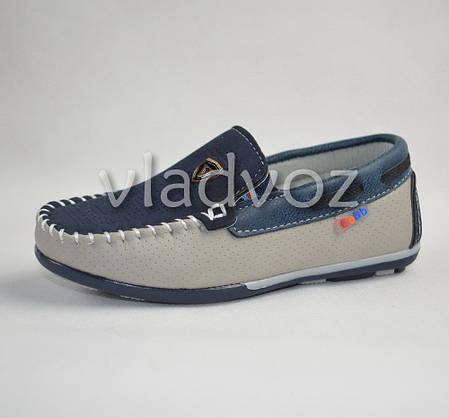 Мокасины, туфли тёмно синяя модель EeBb 28р., фото 2
