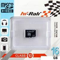 """Micro SD 16 GB Class 10 """"hi-Rali"""""""