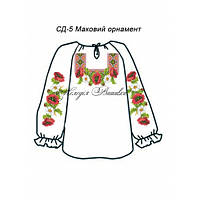 Сорочка для дівчинки №5 Маовий орнамент