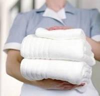 Махровые салфетки, полотенца и ковры для ног белые ОПТ