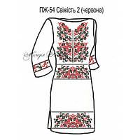 Плаття жіноче №54 Свіжість 2 (червона)