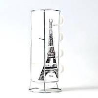 Набор чашек Опять хочу в Париж Большой, фото 1
