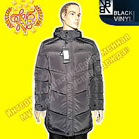 Куртки длинные мужские Black Vinyl