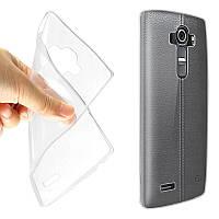 Чехол силиконовый Ультратонкий Baseus Clear Case для LG G4 H815 H818P Dual Прозрачный