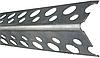 Угол алюминевый перфорированный 90гр 2,5 м.п.