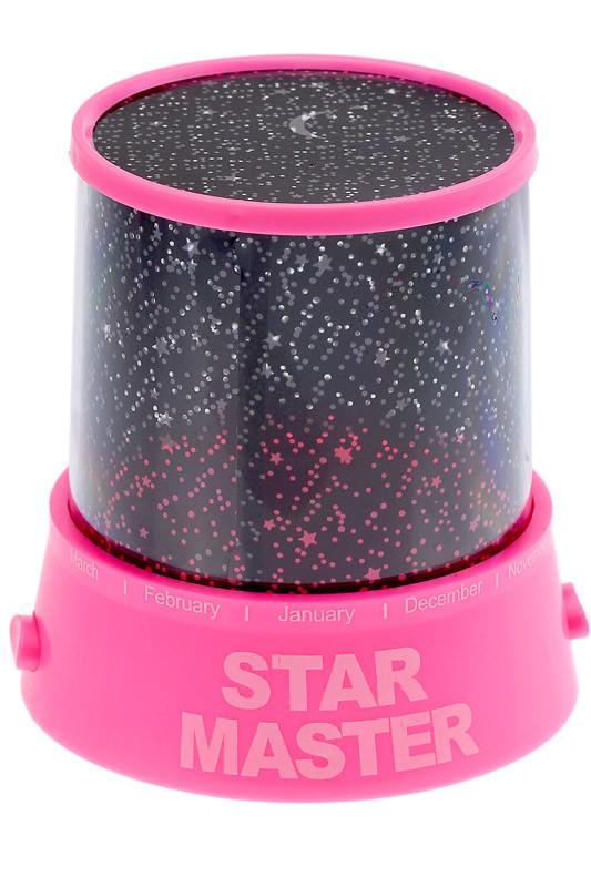Проектор звездного неба Star Master Pink