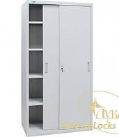 Шкаф канцелярский ШКГ-10 К (двери купе)