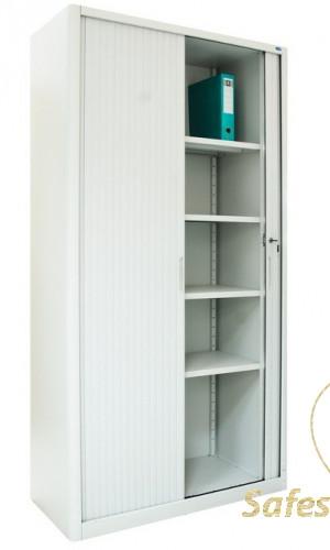 Шкаф канцелярский ШКГ-10р с роллетными дверьми