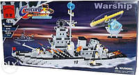 Конструктор brick 112 Военный корабль 970 деталей