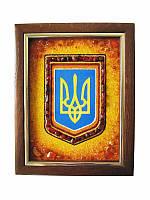 Картина из янтаря Трезубец (Картины и иконы из янтаря)