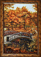 Картина из янтаря Мостик (Картины и иконы из янтаря)