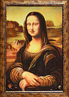 Картина из янтаря Мона Лиза (Картины и иконы из янтаря)