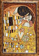 Картина из янтаря Поцелуй (Картины и иконы из янтаря)