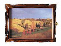 Картина-ключница Поле (Деревянные ключницы)