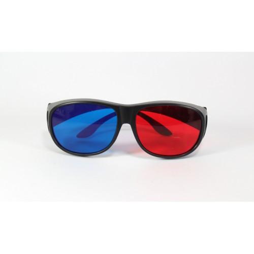 Очки 3D, анаглифные 3D стерео очки