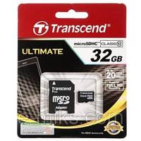 Карта памяти Transcend 32 ГБ class 4