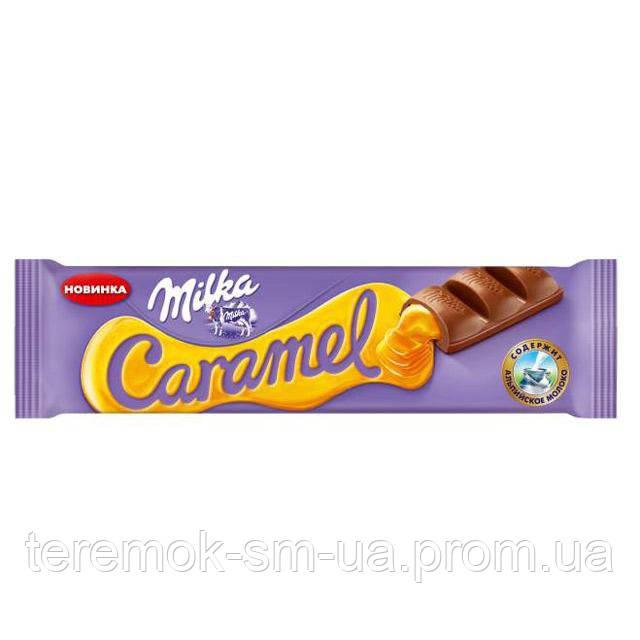 """Milka Шоколад молочный с карамелью 39г - Представительство магазина товаров для дома """"Теремок"""" в Сумах"""