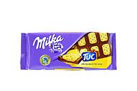 Milka Шоколад с соленым крекером 87г